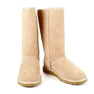 Ugg Women's Classic Tall Boot - Beige - Size 5